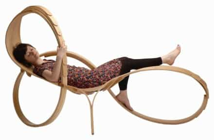 Artistically Curvey lounger